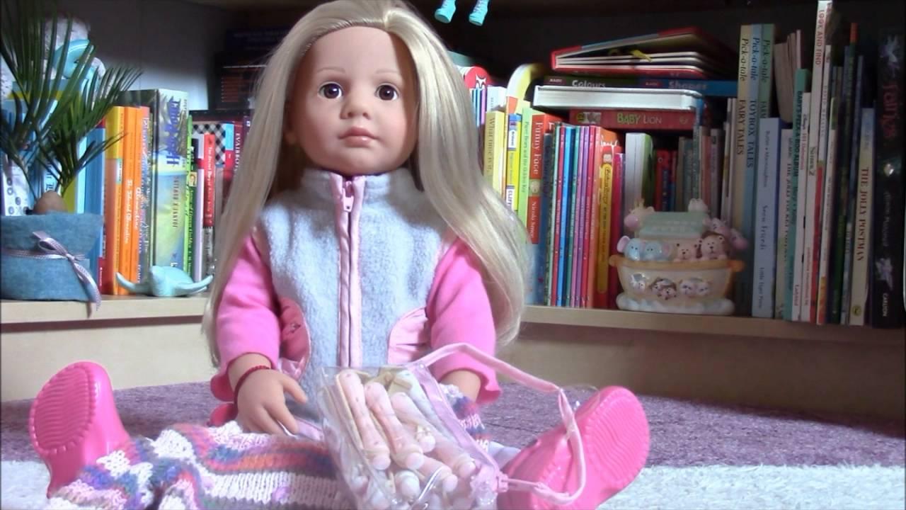 G 246 Tz Happy Kidz Emily Doll Review Youtube