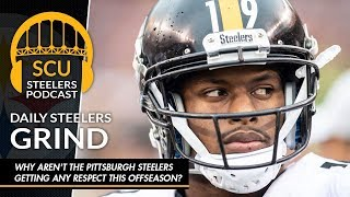 Why aren't the Pittsburgh Steelers getting any respect this offseason?
