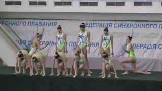 Чемпіонат України 2016. Комбі. Довільна програма. Харківська область-3