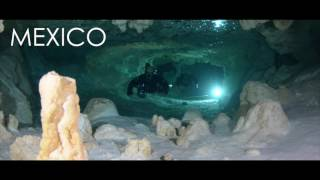 CAVE DIVE PLAYA DEL CARMEN WITH ADVANCED DIVER MEXICO