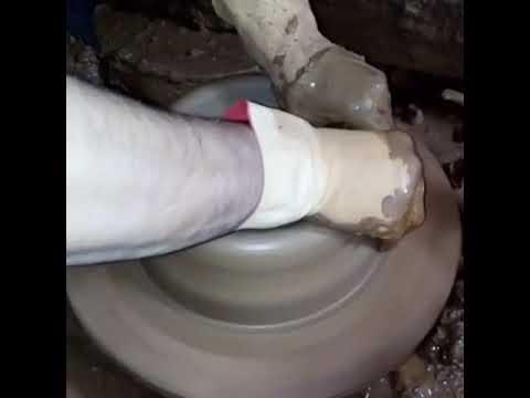 Toprak fırın tepsisi yapımı  oktay ide)