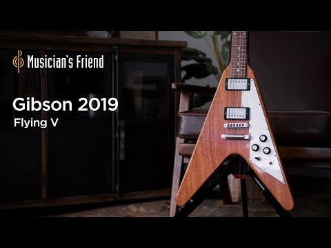 Gibson 2019 Flying V Electric Guitar Demo