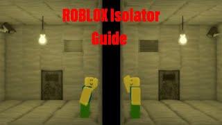 Roblox Isolator Full Walkthrough Experiment 1 - how to beat roblox isolator