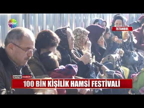 100 Bin Kişilik Hamsi Festivali