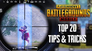 Top 20 Tips & Tricks in PUBG Mobile | Ultimate Guide To Become a Pro #17