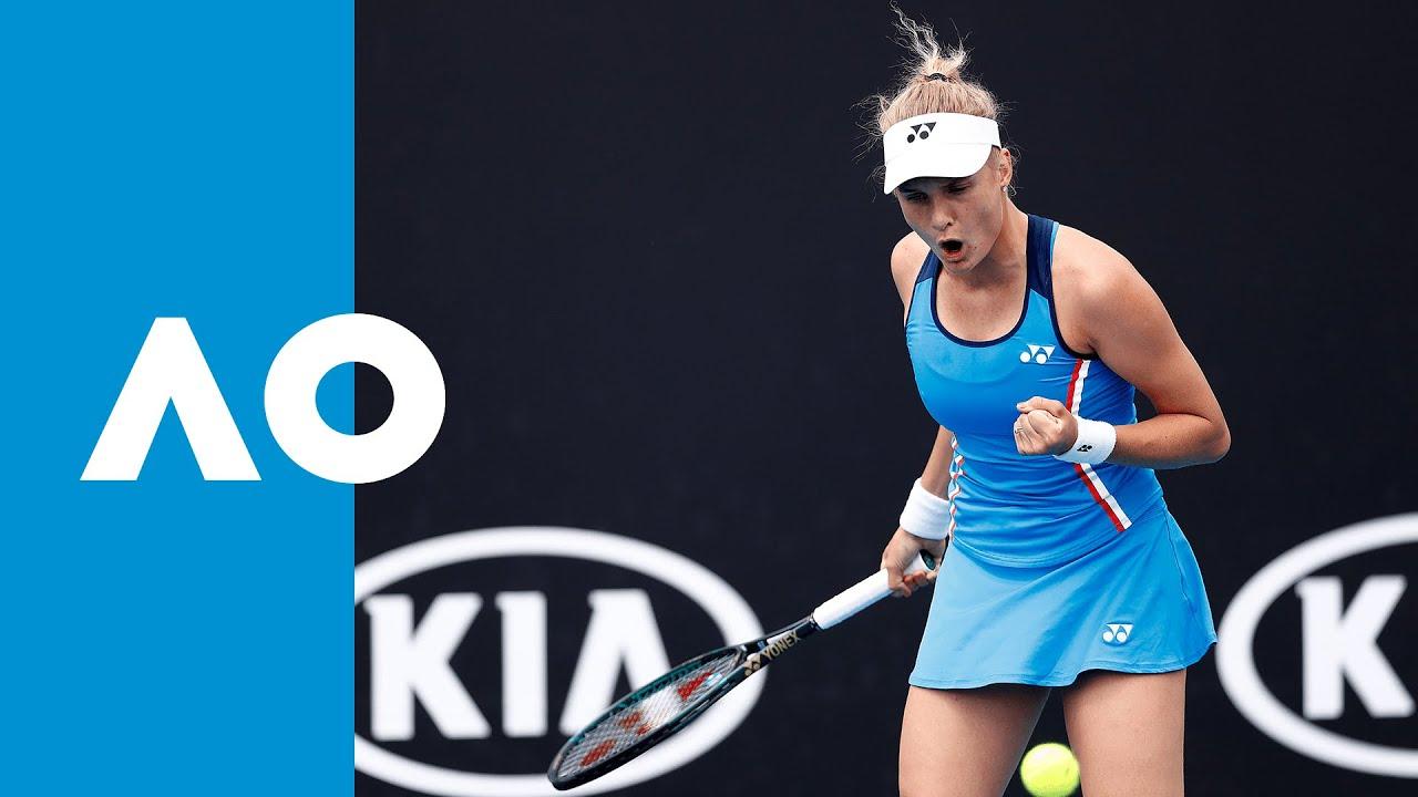 Kaja Juvan Vs Dayana Yastremska Match Highlights R1 Australian Open 2020
