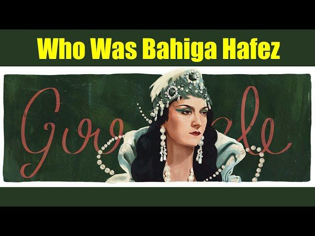 Bahiga Hafez Google Doodle