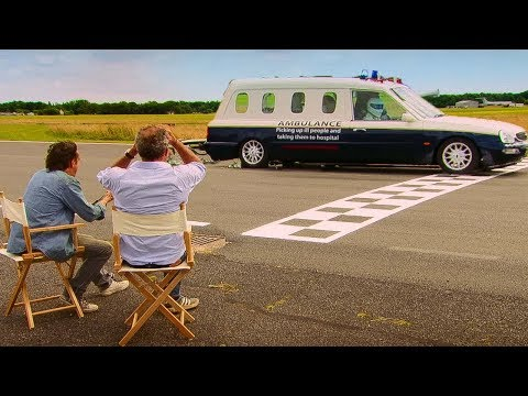 Ambulance Challenge (The Race) - Top Gear - The Stig - BBC