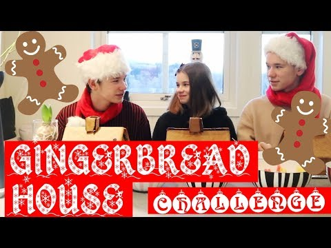 Marcus&Martinus – Gingerbread House Challenge With EMMA!!