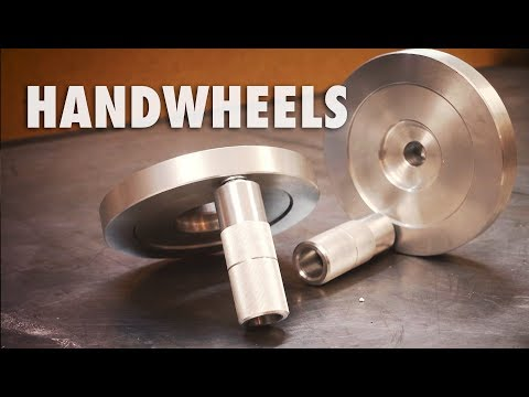 Making Milling Machine Handwheels