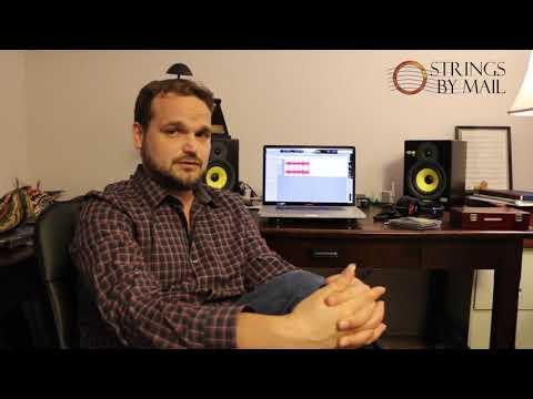 Home Recording Master Class 1 Matt Palmer   Strings By Mail Sponsored Artist