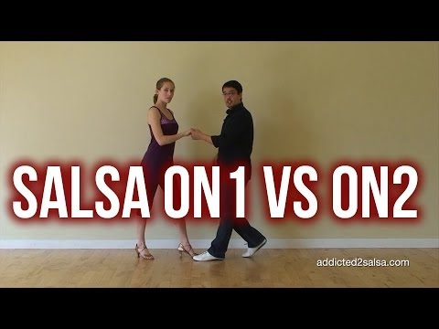 Difference between On1 and On2 timing in Salsa Dancing