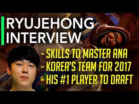 Overwatch Interview | Lunatic-Hai Ryujehong on Ana, World Cup, Best Player to Draft #1 for a Team