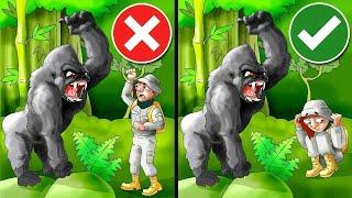 Sobrevive A Ataques De Animales Con Estos Consejos De Supervivencia