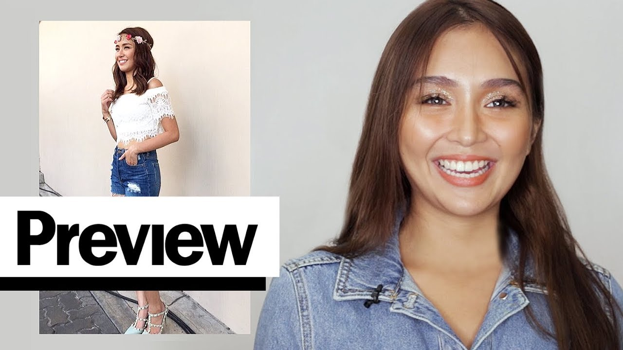 [VIDEO] - Kathryn Bernardo Reacts To Her Old Outfits | Outfit Reactions | PREVIEW 1