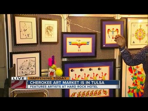 Cherokee Art Market brings over 150 Native American artists to Tulsa for the weekend