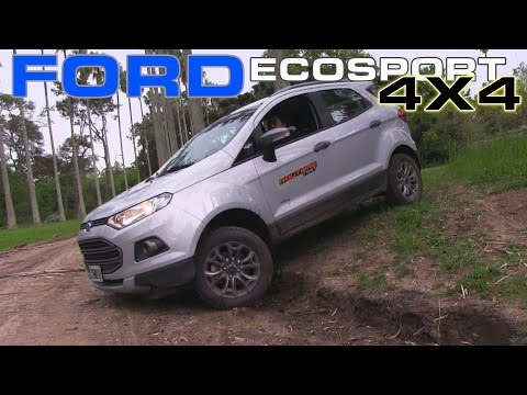 Ford Ecosport 4X4 Freestyle Test - Routière - Pgm 289