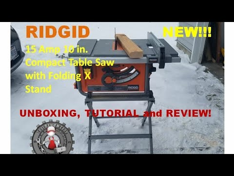 Ridgid 10 in compact table saw with folding x stand review ridgid 10 in compact table saw with folding x stand review r45171 greentooth Images