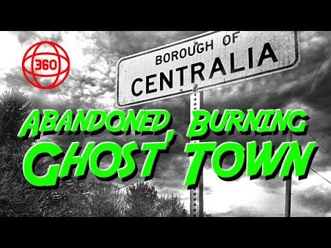 Discover an Abandoned Burning Ghost Town - Urbex Centralia