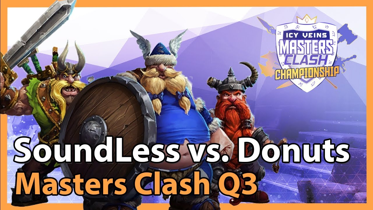 Donuts vs. SoundLess - Masters Clash Q3 - Heroes of the Storm