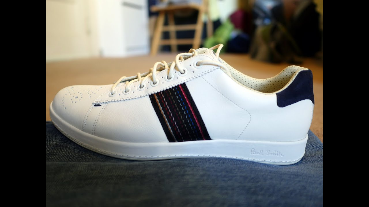 Leather Embroidered Sneakers Spring/summer Paul Smith cCI0uxLmw