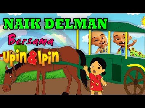 Naik Delman Versi Upin Ipin | Lagu Anak-anak Terlaris ( Full Teks Untuk Karaoke )