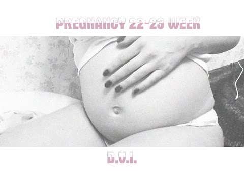 Дневник беременности | 22-23 неделя | ВСД, бандажи и живот!