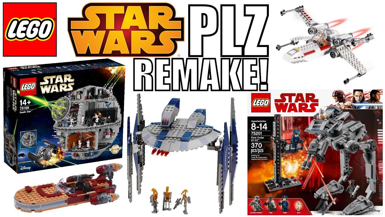 Top 10 LEGO Star Wars Sets That MUST BE REMADE! 2020/2021!