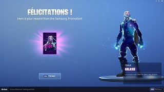 I DEBLOQUETHE GALAXY SKIN on FORTNITE BATTLE ROYALE!