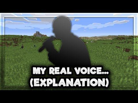 my real voice... (coming clean)