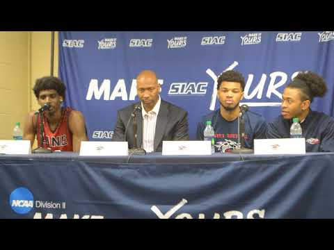 Dragons discuss opening round win over Paine College