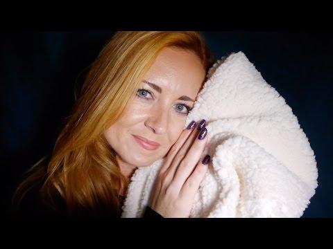 Comfort Blankets ✨ ASMR Bedtime Tuck In ✨ Oil Spray, Fabrics, Pillow Scratching