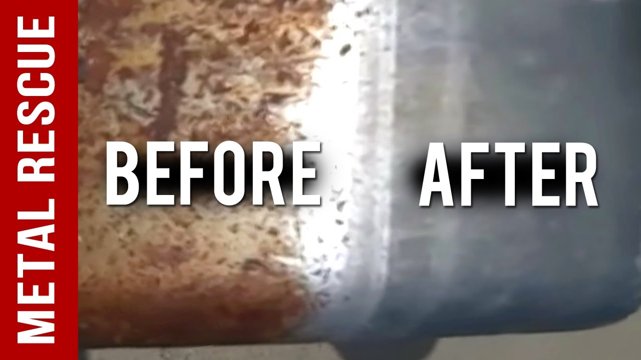 How To Remove Rust From A Rusty Chrome Fender No Acids You