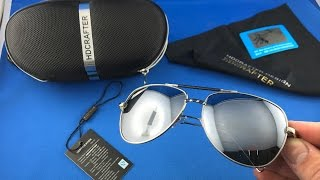 ✅ 9$ Aviator Polarized HDCRAFTER Glasses Unboxing from AliExpress euro app
