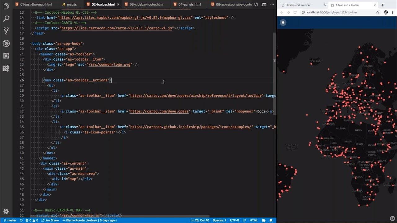 Recorded Webinar - Embedding Location Intelligence in Web Apps that Enhance  UX