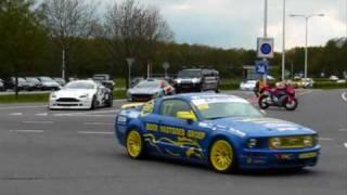 Superleague Formula 2010: Parade & demo @ Assen, The Netherlands