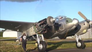 De Havilland Mosquito TV959 First Engine Runs In 60 Years