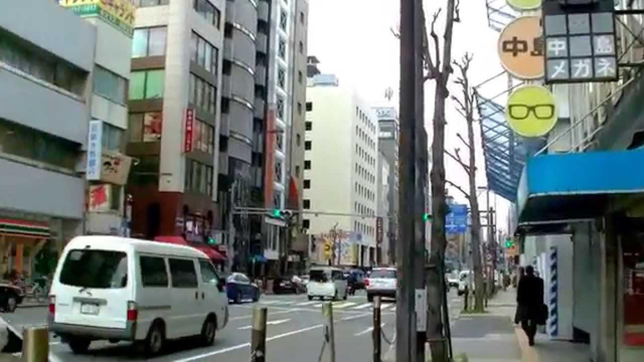 2017 大阪自由行-道頓堀商店街步行往Fujiya富士屋及Dormy Inn多美迎 ...