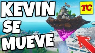 THE ISLAND of CUBE KEVIN moves by FORTNITE 😎 BUG ELECTRIC Trap