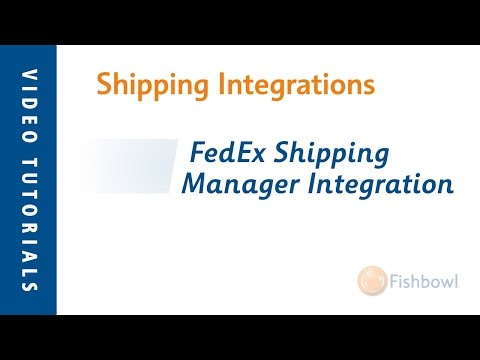 FedEx Ship Manager Integration - Shipping Integration