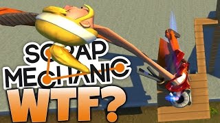 Scrap Mechanic - Dwarf Destruction! Dwarf Tossing Machines (Scrap Mechanic Gameplay)
