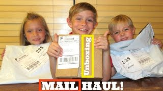 KIDS MAIL HAUL AND UNBOXING!