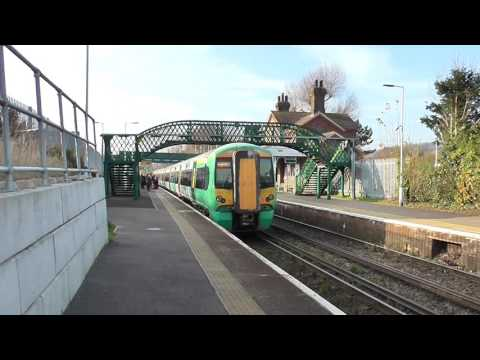 Trains At Falmer Railway Station - Saturday 26th November 2016