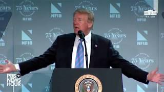 WATCH: President Trump speaks at the National Federation of Independent Businesses