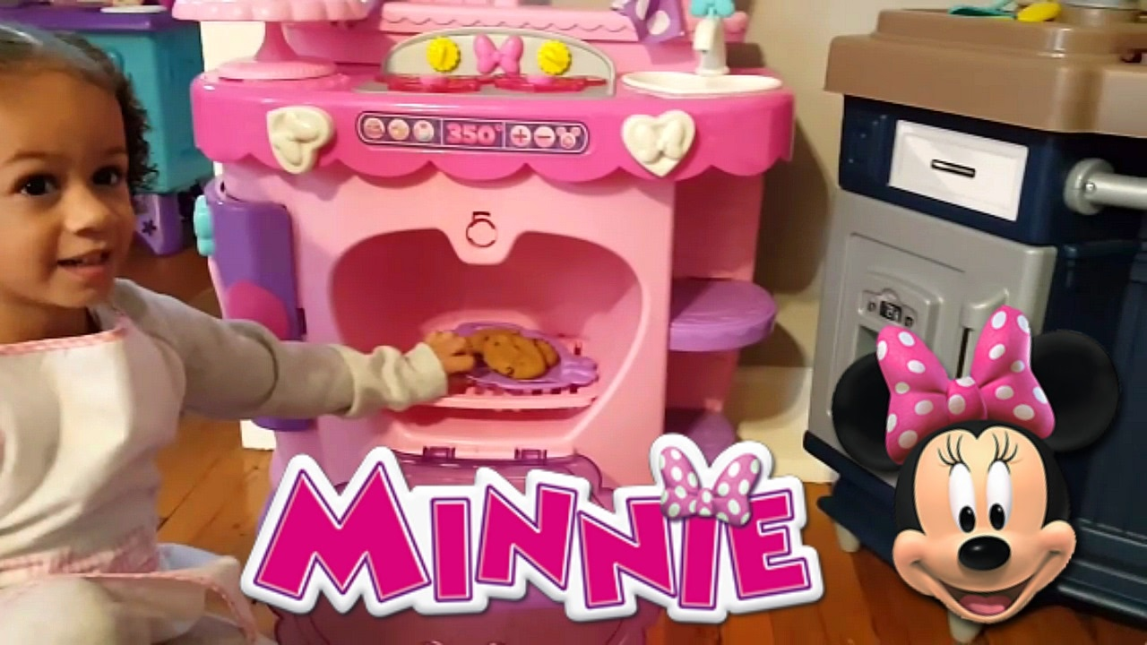 Minnie Mouse Sweet Surprises Kitchen Pretend Cooking Compilation Youtube