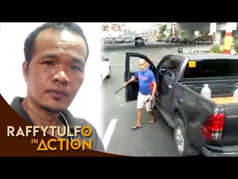 VIRAL: DRIVER NG PICK-UP, BINASAG ANG BINTANA NG TRUCK NA NAKAGITGITAN!