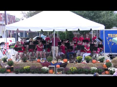 Trimble County Middle School Band at Trimble County Apple Festival 2011