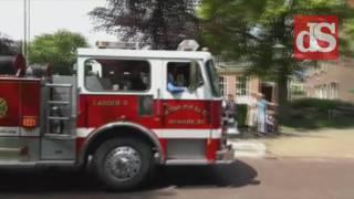 Brandweertrouw in Nieuwleusen