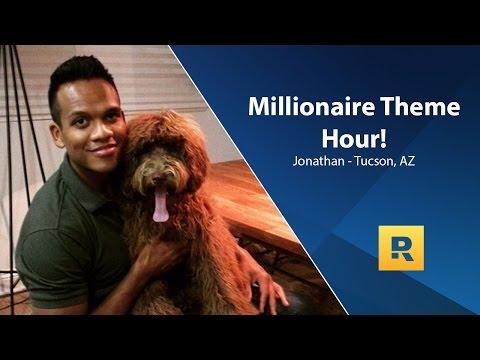 Millionaire Theme Hour - $1 Million Net Worth - Jonathan from Tucson, AZ