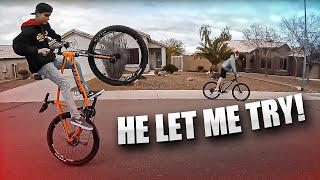 These Kids Can Wheelie Their Bikes! [Motovlog 215]
